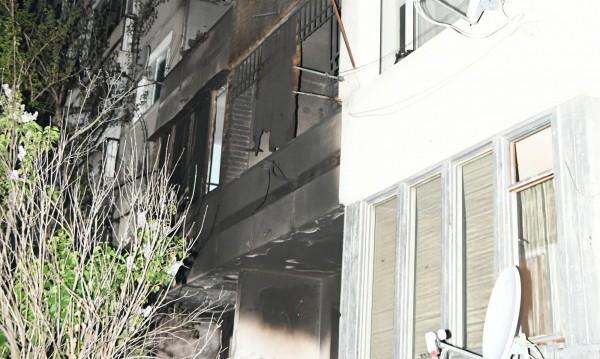 """Пожар горя в апартамент в столичния кв. """"Надежда"""""""