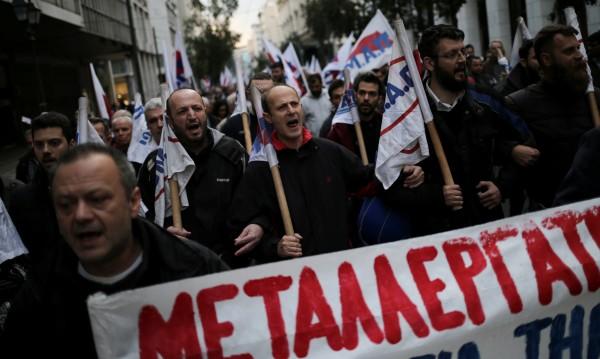 Гърция под блокада: 24-часова стачка спира транспорта