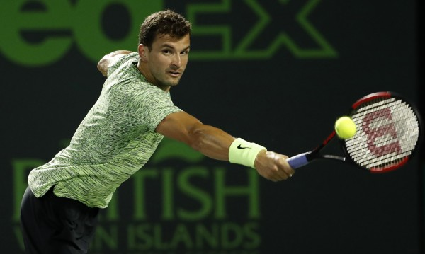 Григор Димитров продължава да пада  в световната ранглиста