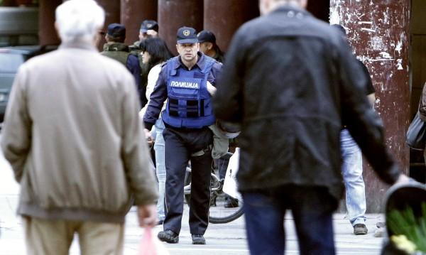 Намериха бомба в парламента на Македония