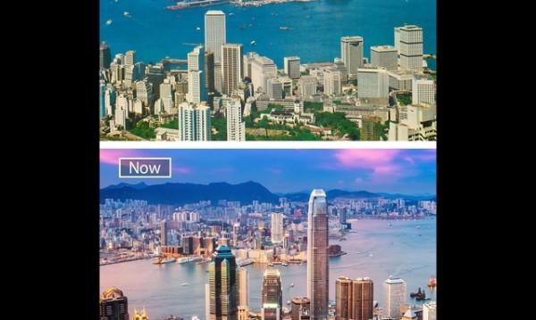 Забележителна промяна: 25 града в миналото и днес
