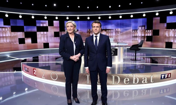 Обвинения, обиди: Льо Пен и Макрон в язвителен TV дебат
