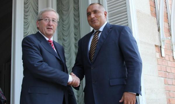 Юнкер поздрави Борисов и му заръча: Бързо с еврокомисаря!