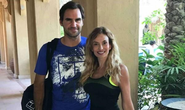 Малина грейна до Федерер, показа тяло на 49