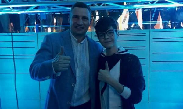 Кристиан Костов се срещна с Кличко, оцеля!