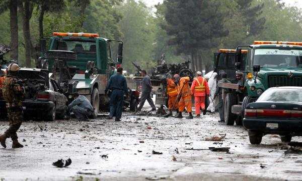 Взрив избухна в центъра на Кабул, има жертви и ранени
