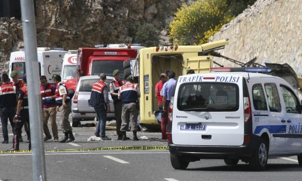 24 са загиналите при жестоката катастрофа в Турция