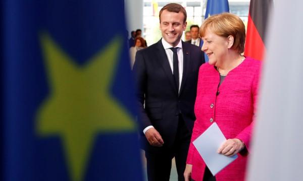 Макрон и Меркел – защитниците на Европа