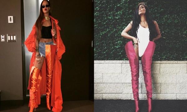 Едни ботуши на две жени: Николета или Риана?
