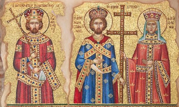 Без полска работа днес, почитаме Св. Константин и Елена