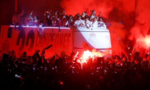 Звездите на Реал: Пике, козел, поздрави шампиона!