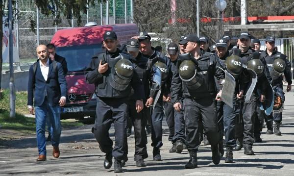 Полицията на крак за мача Лудогорец – Ботев