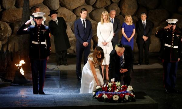 Тръмп почете паметта на жертвите на Холокоста в Яд Вашем