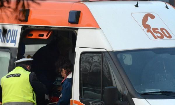 Шофьор помете катаджия на кръстовище в Пловдив