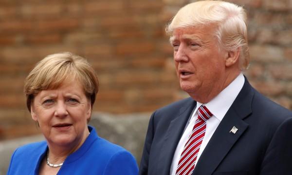 Меркел несъгласна с Тръмп за търговския излишък на Берлин
