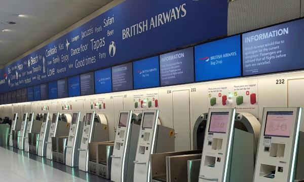 Компютърен срив отмени полети на British Airways на лондонски летища