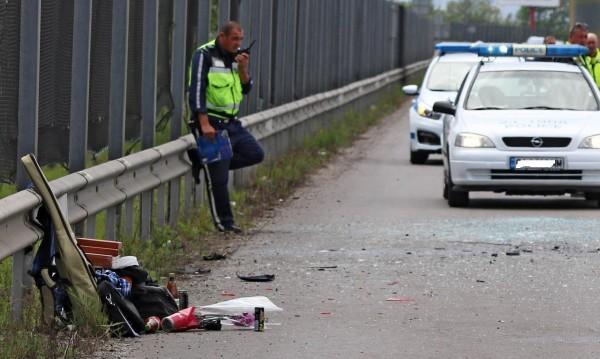 Пиян подкара кола и катастрофира, трима с опасност за живота