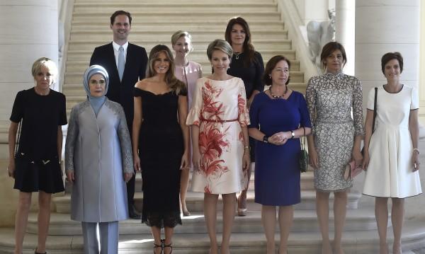 """Нов гаф: Белият дом """"забрави"""" съпруга на премиера на Люксембург"""