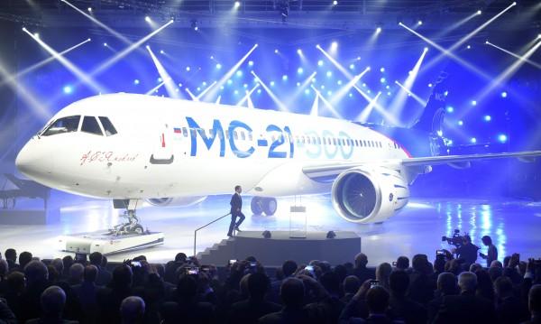 Нов руски пътнически самолет с успешен първи полет
