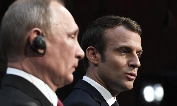 Макрон и Путин от Версай: Заедно в борбата с тероризма!