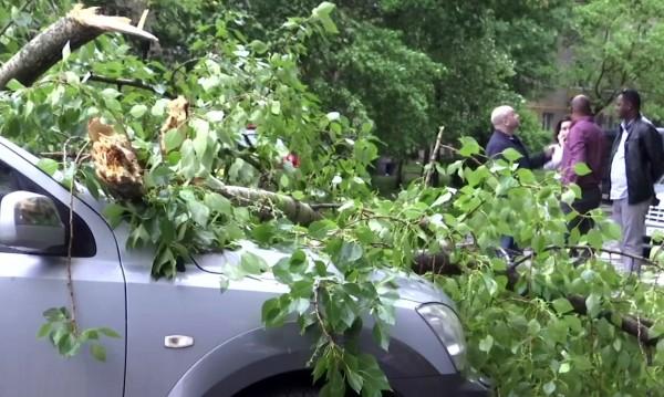 След урагана в Москва: 150 в болница, 11 жертви