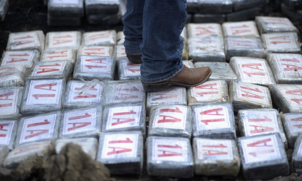 840 кг кокаин залови полицията на Салвадор в Тихия океан