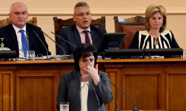 """Нинова: ГЕРБ остават само с """"патерицата си ОП"""""""