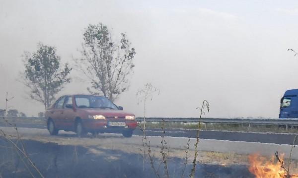 """Заводът за отпадъци в Шишманци гори! """"Тракия"""" в дим"""