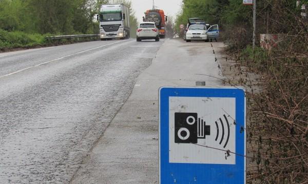 """Внесено от ГЕРБ: Маха се знак Е24 - """"Внимание, камера за скоростта!"""""""