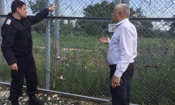 МВР шефът с изненадваща проверка на границата с Турция