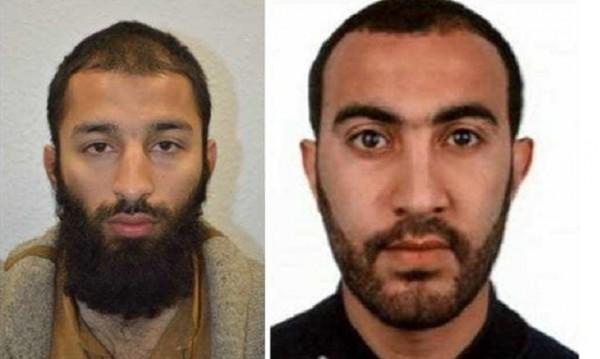 Лицата на терора в Лондон: Полицията съобщи имената им