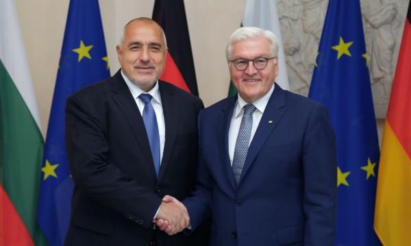 Щайнмайер към Борисов: Европа и България имат нужда от вас