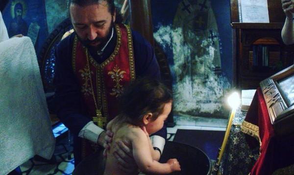 Радина и Деян Донков кръстиха сина си