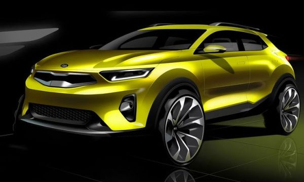 Kia загатна дизайна на своя нов SUV