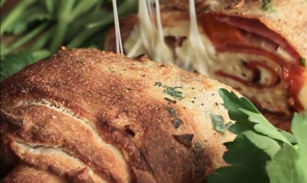 Рецептата Dnes: Пица руло