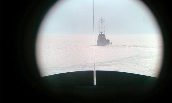 """""""Пантер""""-ът паднал в Черно море при маневра след стрелба"""