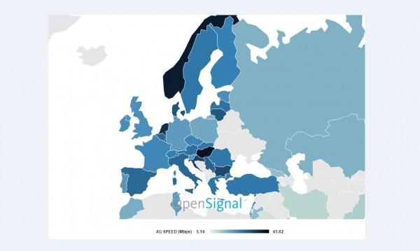 България – сред страните с най-бърз интернет
