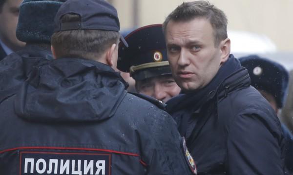 Преди митинг на руската опозиция – арест за Алексей Навални