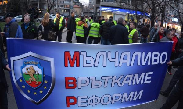 Полицаи за протест се стягат, искат пари... 15% отгоре
