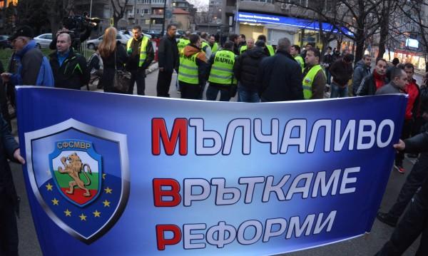 Полицаите готови за протест. МВР шефът май ще отстъпи