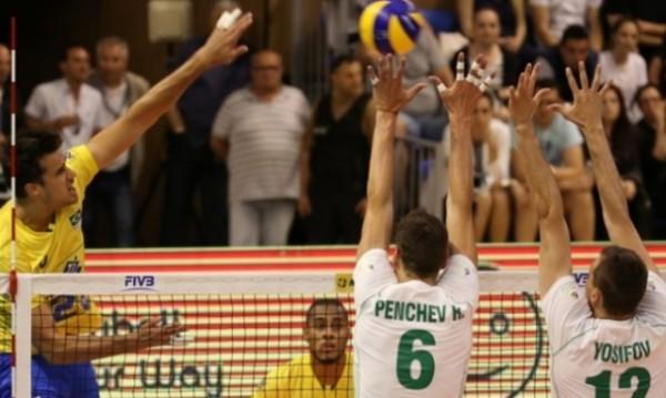 """Бразилия укроти волейболните """"Лъвове"""", върна си за загубата"""
