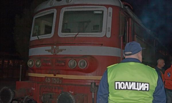 Мъж в болница, след като бе ударен от влак в Пловдив
