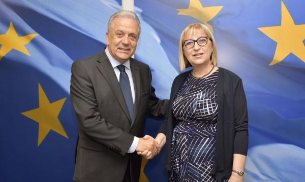 Цачева представи в Брюксел приоритетите ни за председателството на ЕС