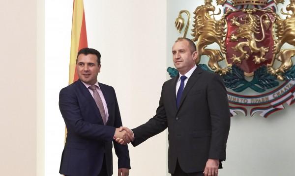 Радев с призив: България и Македония да обърнат нова страница