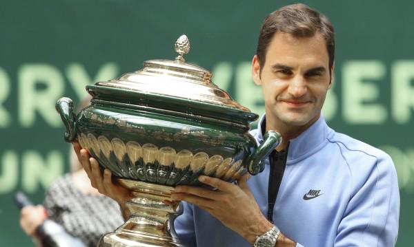 Велик e! Федерер с девета титла в Хале