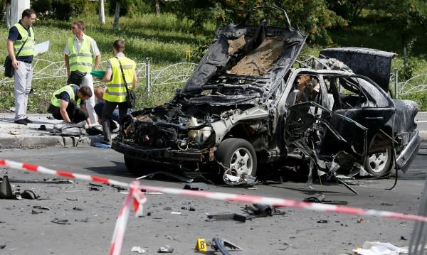 Полковник загина при взривяване на колата му в Киев