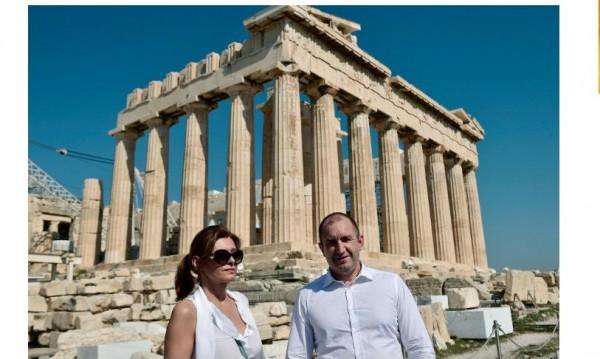 Семейство Радеви - рекламни лица на имотния пазар в Гърция