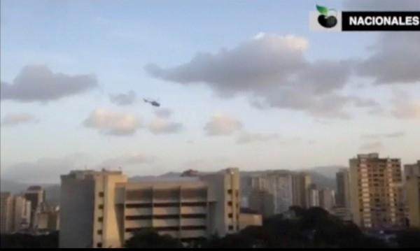 Нападнаха с хеликоптер Върховния съд на Венецуела