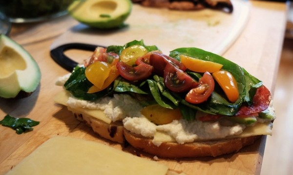 Рецептата Dnes: Сандвич с бекон и спанак