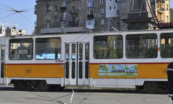 Забравен багаж блокира движението на трамвай 20